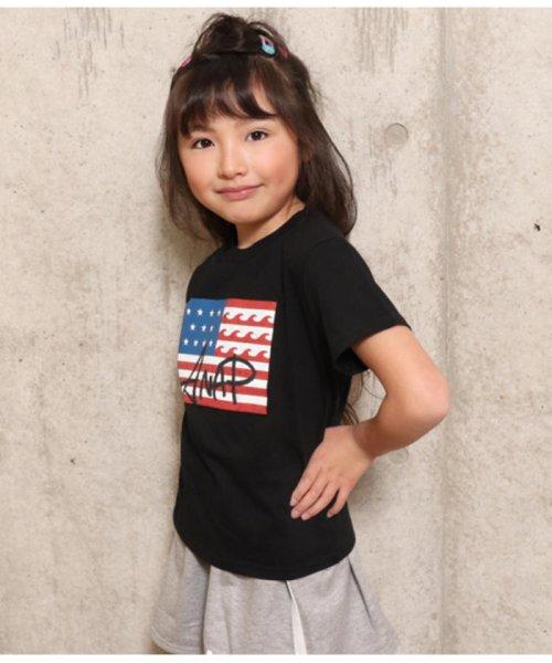 ANAP KIDS(アナップキッズ)/USAフラッグプリントTEE/0437700016_img02