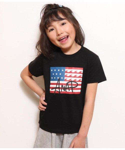 ANAP KIDS(アナップキッズ)/USAフラッグプリントTEE/0437700016_img03