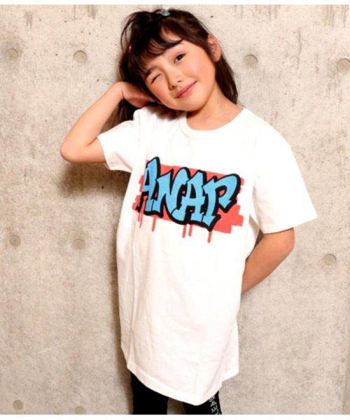 ANAP KIDS(アナップキッズ)/グラフィティプリントBIG-Tシャツ/0437800021_img02