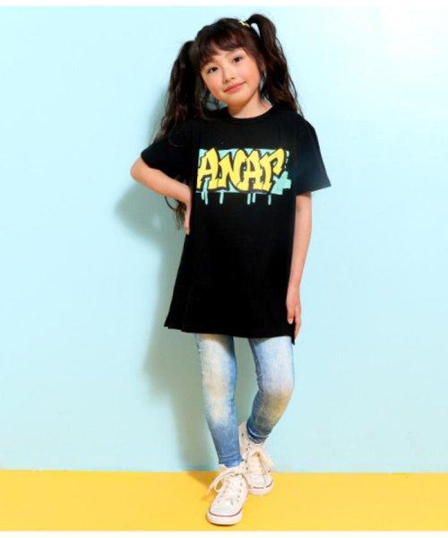 ANAP KIDS(アナップキッズ)/グラフィティプリントBIG-Tシャツ/0437800021_img07