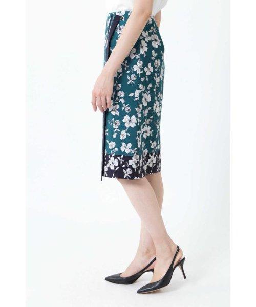 NATURAL BEAUTY(ナチュラル ビューティー)/◆[ウォッシャブル]スカーフエッジフラワースカート/0189120507_img10