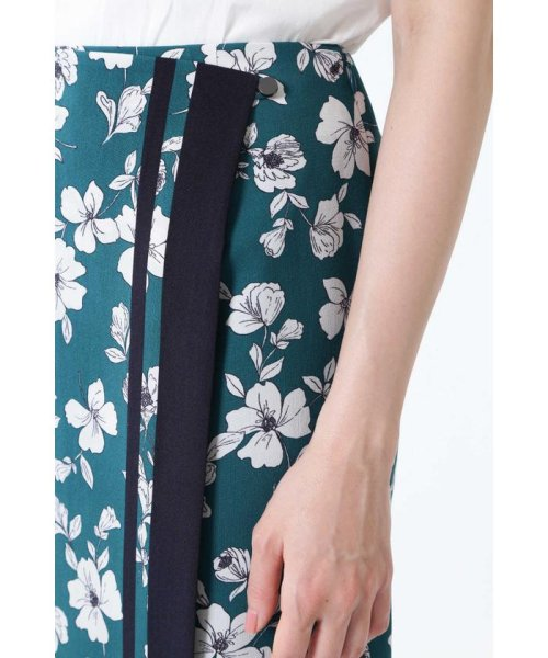 NATURAL BEAUTY(ナチュラル ビューティー)/◆[ウォッシャブル]スカーフエッジフラワースカート/0189120507_img12