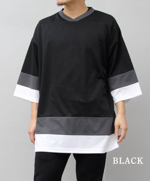 AMS SELECT(エーエムエスセレクト)/【UnitedAthle/ユナイテッドアスレ】4.1オンスドライホッケービッグTシャツ/速乾Tシャツ/CAB-A018_img02