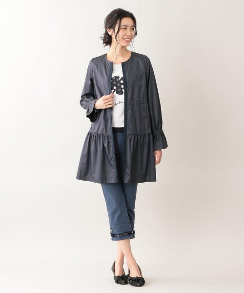 TO BE CHIC(トゥービーシック)/【はっ水】高密度タフタロングコート/W5A90166--_img01