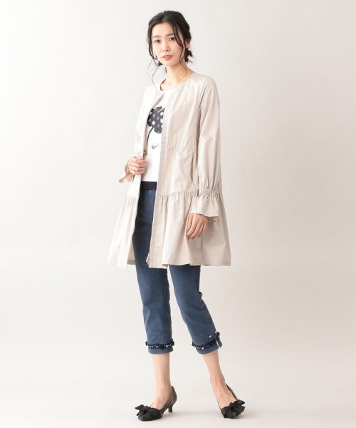 TO BE CHIC(トゥービーシック)/【はっ水】高密度タフタロングコート/W5A90166--_img02