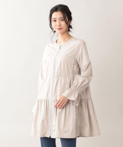 TO BE CHIC(トゥービーシック)/【はっ水】高密度タフタロングコート/W5A90166--_img06