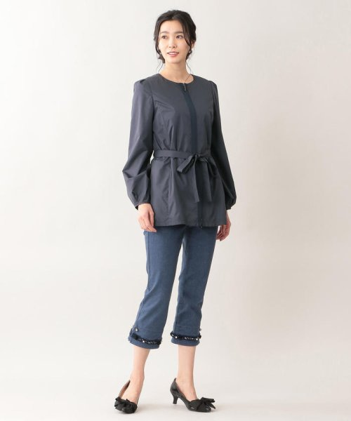TO BE CHIC(トゥービーシック)/【はっ水】高密度タフタショートコート/W5A91166--_img01