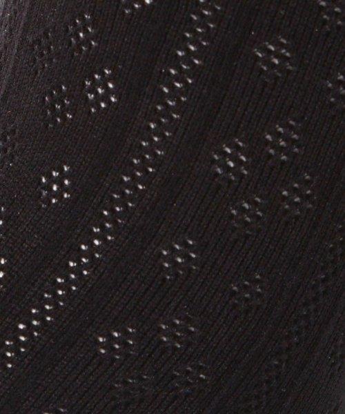 moisok(moisok)/やわらか素材使用メッシュダイヤストライプスニーカー丈ソックス/521316_img03