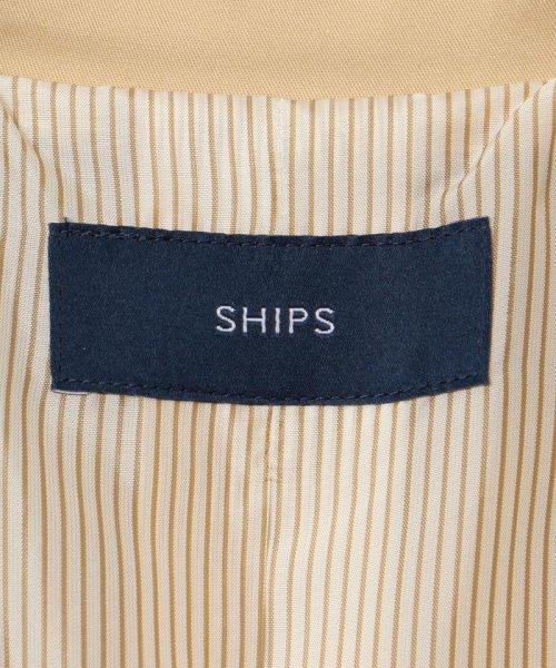 SHIPS WOMEN(シップス ウィメン)/スタンドカラートレンチコート/314110406_img13