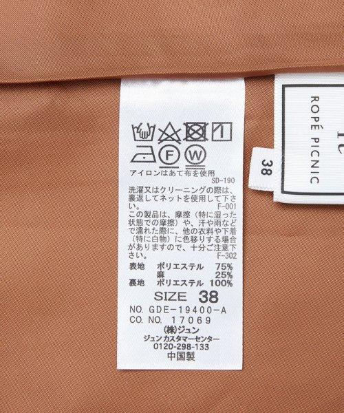 ROPE' PICNIC(ロペピクニック)/★バイオウォッシュリネン混ドルマンワンピース/GDE19400_img10