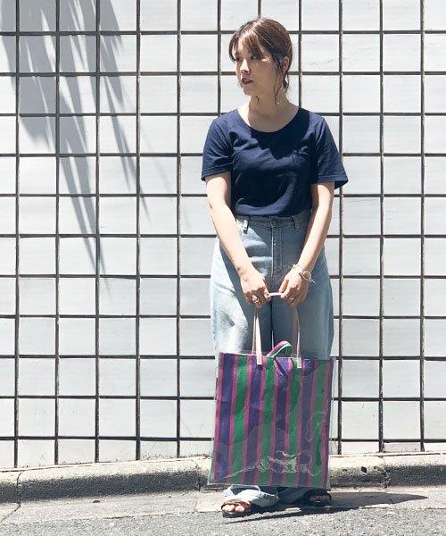 nano・universe(ナノ・ユニバース)/【STORY 6月号掲載】Anti Soaked 30/-クルーネックTシャツ/6699124003_img30