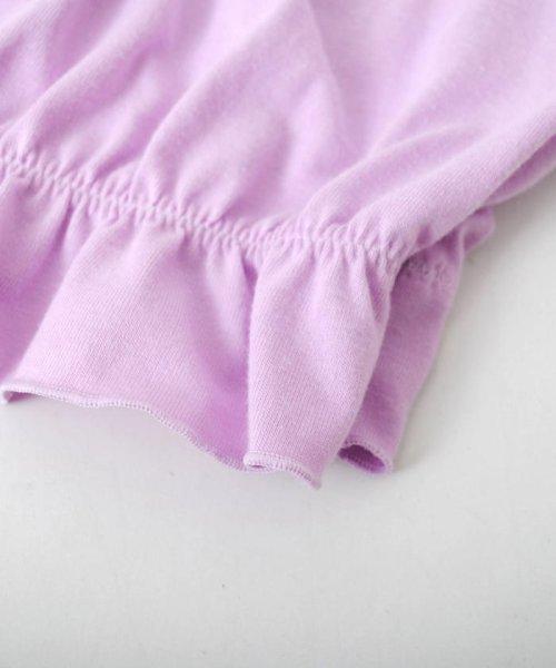 ZIDDY(ジディー)/【ニコプチ掲載】オフショル編み上げTシャツ/123512510_img11