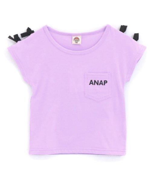 ANAP KIDS(アナップキッズ)/肩リボンポケット付トップス/0437300009_img22