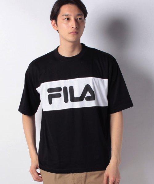 MARUKAWA(マルカワ)/【FILA】フィラ 切り替え ロゴ 半袖Tシャツ/0113060077_img06