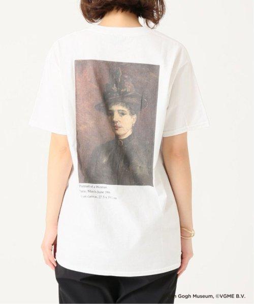 JOURNAL STANDARD(ジャーナルスタンダード)/Van Gogh Museum PORTRAIT OF A WOMAN S/S T:Tシャツ◆/19070410020310_img03
