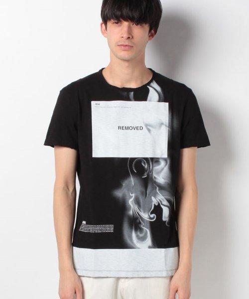 SISLEY(シスレー(メンズ))/スラブグラフィックプリント半袖Tシャツ・カットソー/19P3APUO12EI_img07