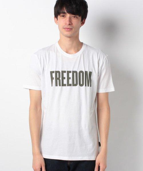 SISLEY(シスレー(メンズ))/オーガニックコットンプリント半袖Tシャツ・カットソー/19P3TM4O12F7_img07