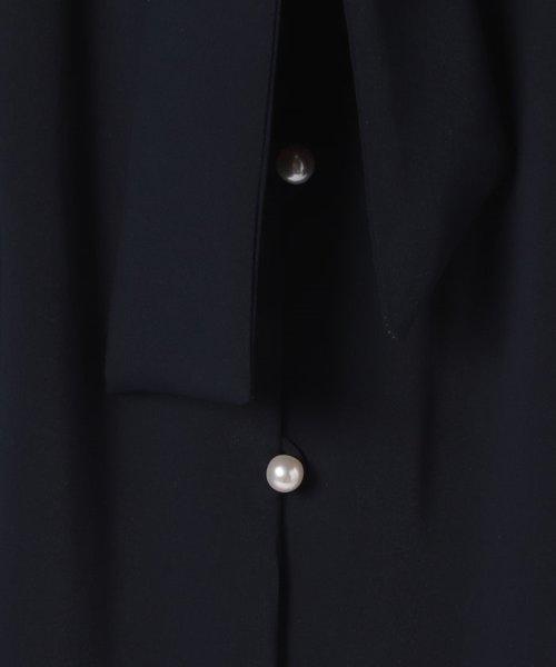 JUSGLITTY(ジャスグリッティー)/フレンチスリーブパール釦抜け衿ワンピース/49260230_img10