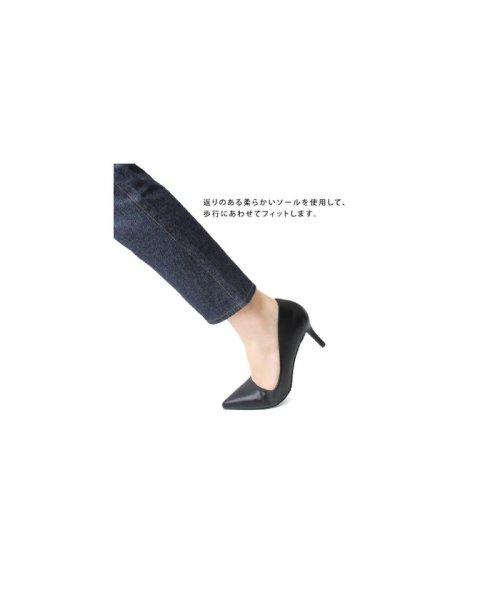 RANDA(ランダ)/ランダ RANDA 【3E/ストレスフリー】アーチサポートパンプス (GREGE SUEDE)/RA041BW06258_img09