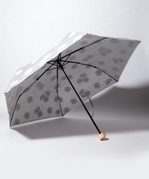 Cocoonist(コクーニスト)/フラワー柄晴雨兼用折りたたみ傘 日傘/QS0818311514_img01