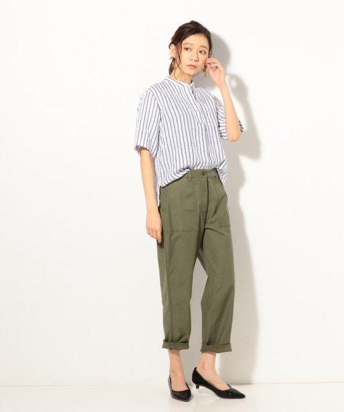 coen(コーエン)/【『リンネル』7月号掲載】フレンチリネンバンドカラーシャツ/76156009007_img07