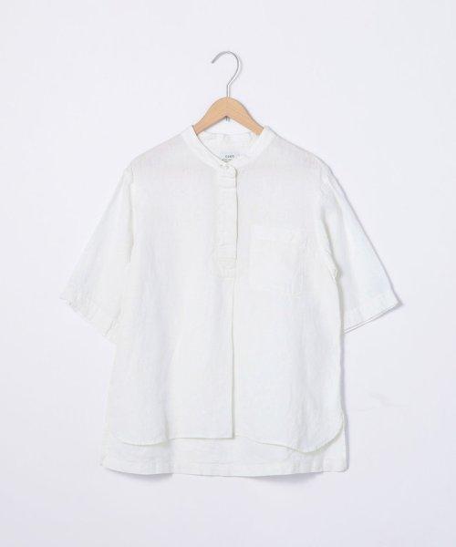coen(コーエン)/【『リンネル』7月号掲載】フレンチリネンバンドカラーシャツ/76156009007_img12