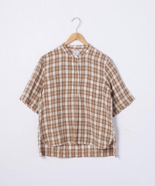 coen(コーエン)/【『リンネル』7月号掲載】フレンチリネンバンドカラーシャツ/76156009007_img14