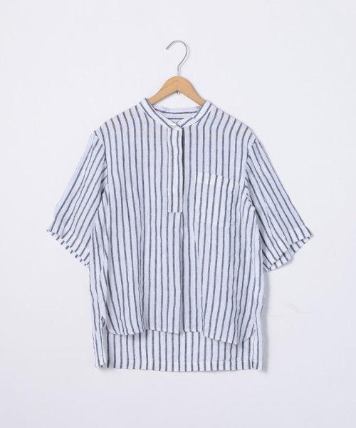 coen(コーエン)/【『リンネル』7月号掲載】フレンチリネンバンドカラーシャツ/76156009007_img16