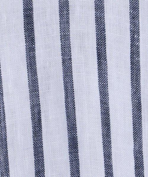coen(コーエン)/【『リンネル』7月号掲載】フレンチリネンバンドカラーシャツ/76156009007_img17