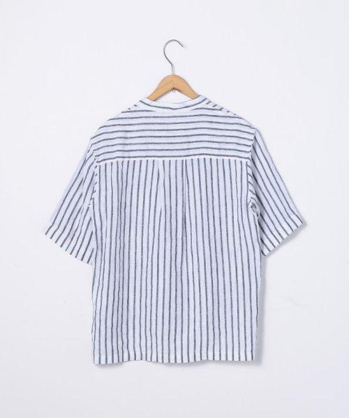 coen(コーエン)/【『リンネル』7月号掲載】フレンチリネンバンドカラーシャツ/76156009007_img18
