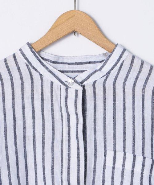 coen(コーエン)/【『リンネル』7月号掲載】フレンチリネンバンドカラーシャツ/76156009007_img19
