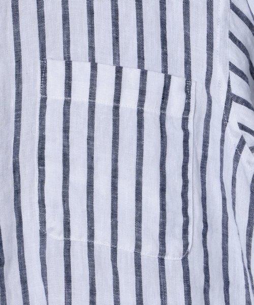 coen(コーエン)/【『リンネル』7月号掲載】フレンチリネンバンドカラーシャツ/76156009007_img20