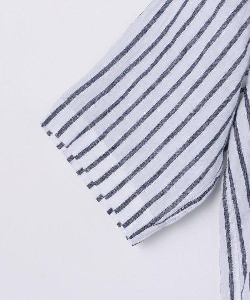 coen(コーエン)/【『リンネル』7月号掲載】フレンチリネンバンドカラーシャツ/76156009007_img21
