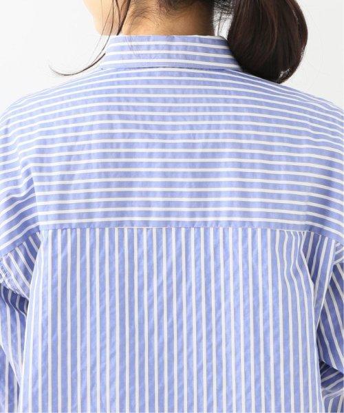 La TOTALITE(ラ トータリテ)/【TVドラマ着用】t.yamai paris ストライプシャツ/19050150000010_img07