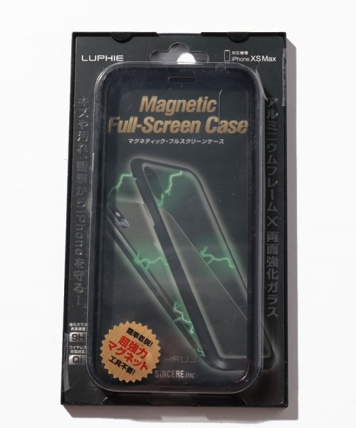 SELECT(SELECT)/<LUPHIE/ルフィ>iPhone X/XS/XS MAX Magnetic Bumper Case マグネティック バンパーケース/39572912_img06