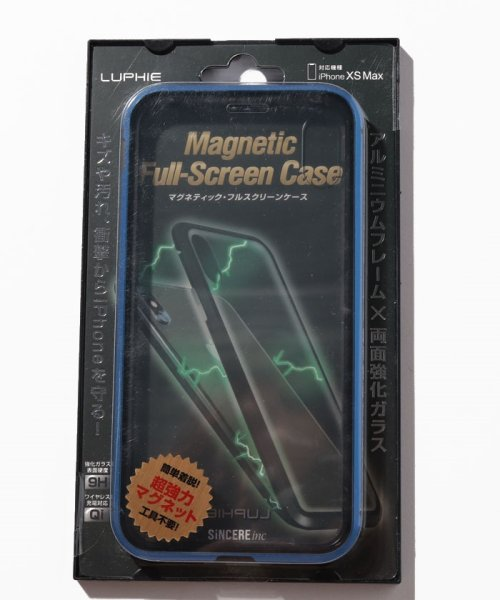 SELECT(SELECT)/<LUPHIE/ルフィ>iPhone X/XS/XS MAX Magnetic Bumper Case マグネティック バンパーケース/39572912_img07