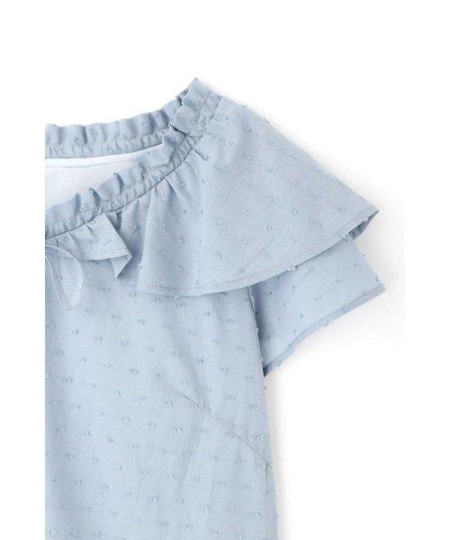 PROPORTION BODY DRESSING(プロポーション ボディドレッシング)/フレアドットブラウス/1219110503_img17
