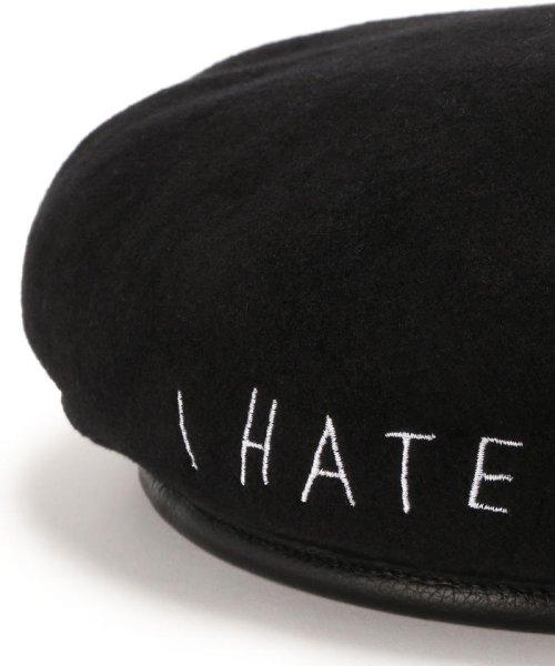LHP(エルエイチピー)/AZS TOKYO/アザストーキョー/I HATE ME TOO BERET/ベレー帽/4202191020-60_img05