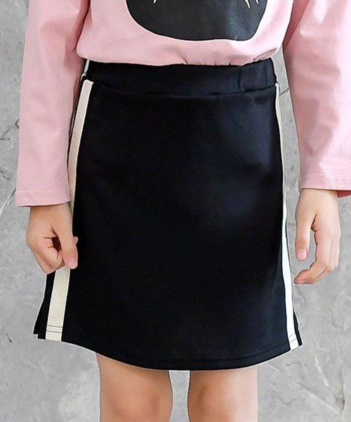 子供服Bee(子供服Bee)/ライン入りジャージスカート/bbb01615_img01
