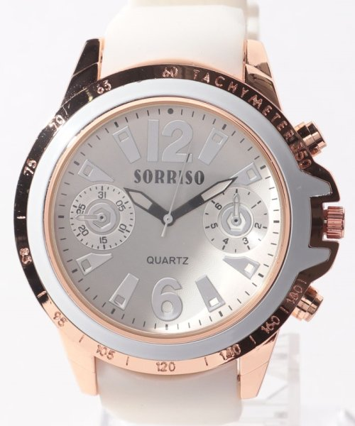 SP(エスピー)/【SORRISO】腕時計 SRF7-WHBK/WTSRF7_img01