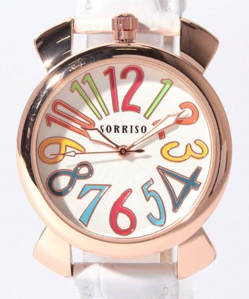 SP(エスピー)/【SORRISO】腕時計 SRF9 ユニセックス レディース腕時計/WTSRF9_img01