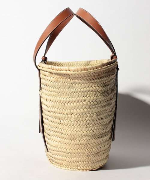 LOEWE(ロエベ)/【LOEWE】かごバッグ/BASKET LARGE【NATURAL/TAN】/32702S8100432435_img01