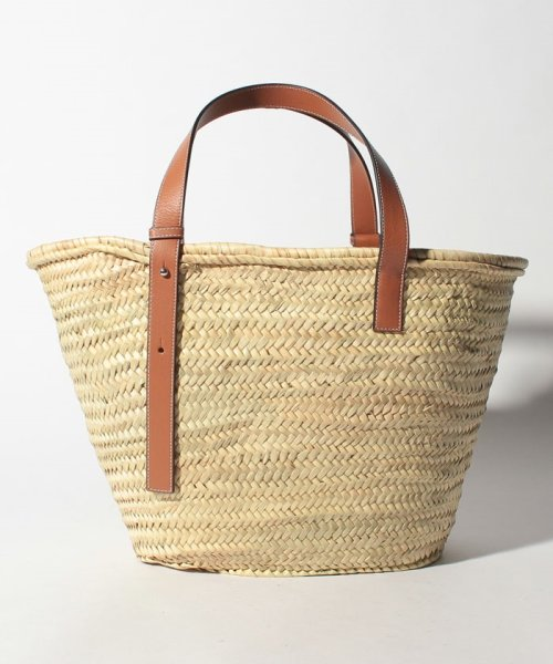 LOEWE(ロエベ)/【LOEWE】かごバッグ/BASKET LARGE【NATURAL/TAN】/32702S8100432435_img02