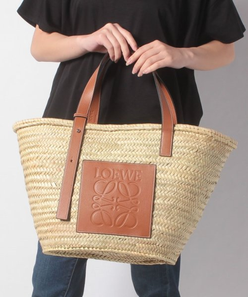 LOEWE(ロエベ)/【LOEWE】かごバッグ/BASKET LARGE【NATURAL/TAN】/32702S8100432435_img05