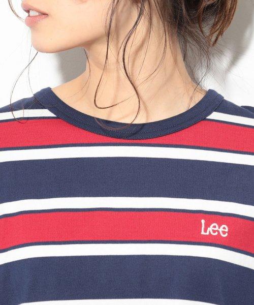 ViS(ビス)/【一部店舗限定】【Lee】ボーダークルーネックTシャツ/BVM79070_img03
