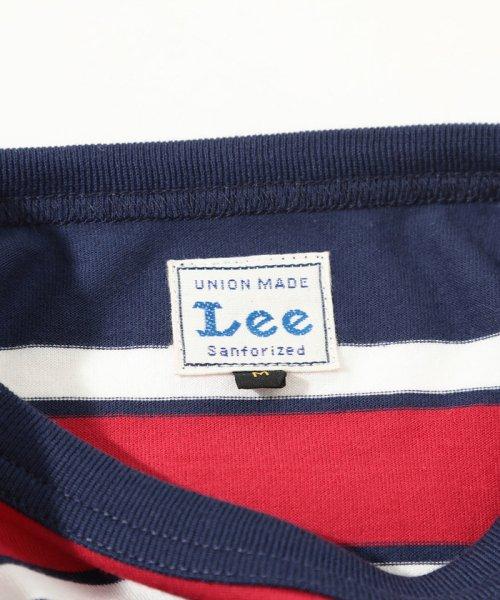 ViS(ビス)/【一部店舗限定】【Lee】ボーダークルーネックTシャツ/BVM79070_img07