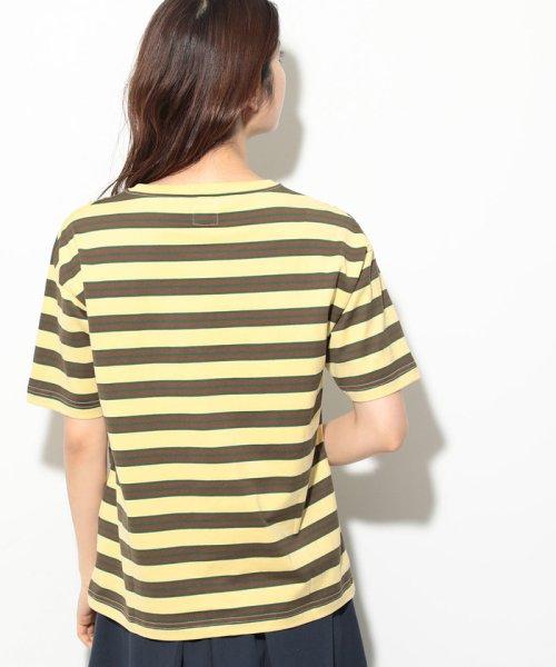 ViS(ビス)/【一部店舗限定】【Lee】ボーダーTシャツ/BVM79080_img02