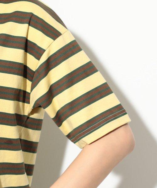 ViS(ビス)/【一部店舗限定】【Lee】ボーダーTシャツ/BVM79080_img04