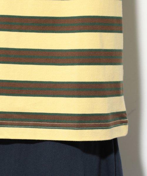 ViS(ビス)/【一部店舗限定】【Lee】ボーダーTシャツ/BVM79080_img07