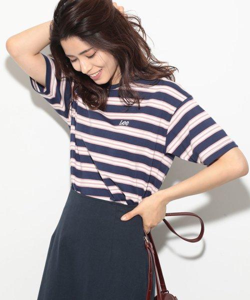 ViS(ビス)/【一部店舗限定】【Lee】ボーダーTシャツ/BVM79080_img12